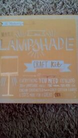 THE MAKERY, MAKE YOUR OWN LAMPSHADE CRAFT KIT, NEW