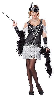 Razzle Dazzle 1920's  Ritz Fashion Flapper Adult Women Costume