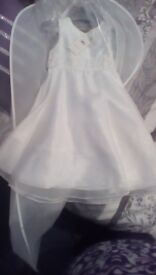 Beautiful little girls dress ideal for wedding
