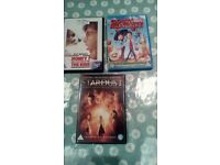 3 x kids DVD - U and PG Rated