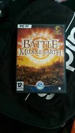 PC lord of the rings battle middle earth