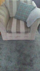 Free cosy cushions/throw.