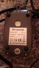 Twin air pump & colour changing air ring