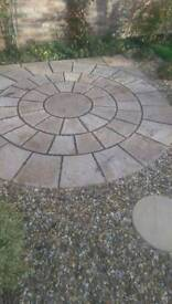 2 Paving circles £80 each