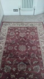 Two burghley Turkish rugs