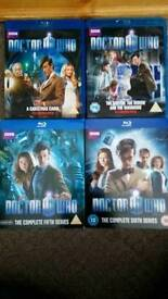 Doctor Who Blu Ray DvdS