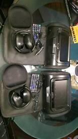 DVD Player headrests x2