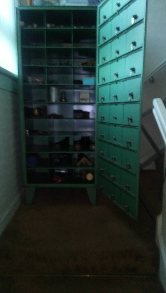 Solid steel cabinet