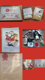 BUDGET CHRISTMAS EVE BOX SANTA KEY SANTA LETTER REINDEER FOOD SNOWMAN POOP HOT CHOCOLATE