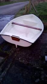 Rowing boat tender yacht cruiser