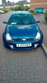 For. Sale ford ka sport 39.000 miles only