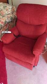 Unused rise and recline chairs with automatic control £250