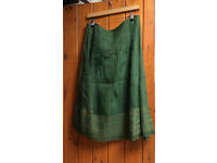 Jigsaw Size 12 Green Skirt NEW with tags