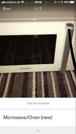 Oven/Microwave (new)