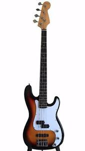 Bass Guitar Brand New Sunburst iMEB262 Full size iMusicGuitar