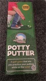 Potty Putter Toilet Golf Novelty Game