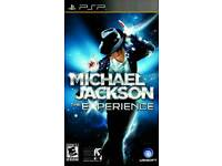 Micheal Jackson Experience PSP NEW
