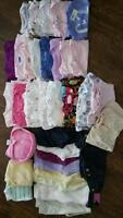 Girl clothing, 0-3 months