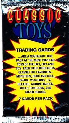 1993 That's Entertainment Classic Toys Trading Card Pack Classic Toys Trading Cards