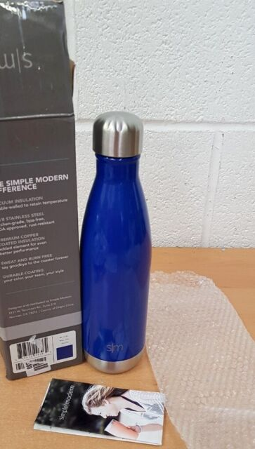 SIMPLE MODERN WAVE WATER BOTTLE - VACUUM INSULATED DOUBLE-WALLED | in  Northfield, West Midlands | Gumtree