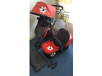 Cosatto Giggle Bizzy Betty 2 in 1 travel system Pushchair and Pram