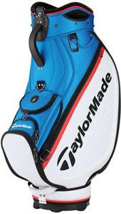 Taylormade Tour Staff Golf Bag White/Blue