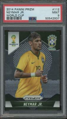 2014 Panini Prizm World Cup #112 Neymar Jr Mint PSA 9