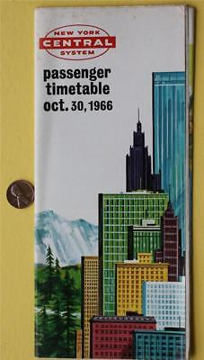 Halloween 1966 New York Central System Railroad timetable brochure-VINTAGE ITEM*](Central Halloween)