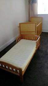 Cot & first bed