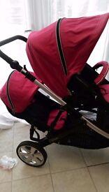 Britax B Dual Pushchair - Double