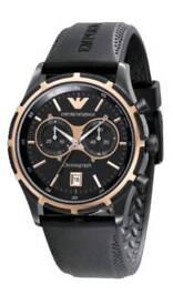 Emporio Armani quartz chronograph watch