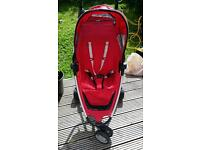 Quinny zapp red stroller buggy pushchair compact