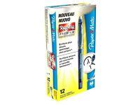 Paper Mate Replay 1901323 Premium Erasable Gel Pen, Medium 0.7 mm Tip, Blue