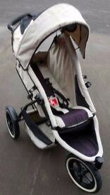 Phil & Teds Single/Double Pushchair