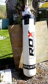 RDX punch bag and gloves