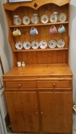 Solid medium welsh dresser perfect for upcycle