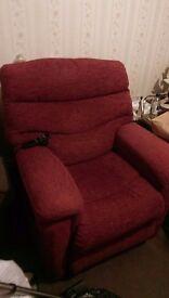 Electric riser armchair