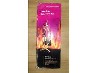NEW!! Tear Drop Style Fireplace/Fireside Companion Set - Polished Brass