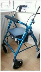 Brand new 4 wheeled Walker (Lightweight)
