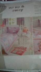 New in original packaging.. babies bedding for a crib.