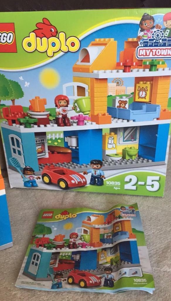 Lego Duplo 10835 Town House With Box And Instructions 100