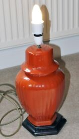 Ceramic Lamp Base (in need of restoration)