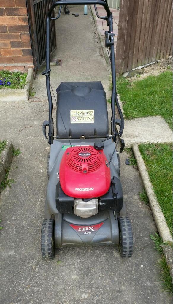honda self propelled mower manual
