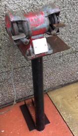 Floor standing 240V grinder