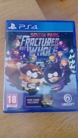 PS4 GAME SOUTH PARK FRACTURED BUT HOLE