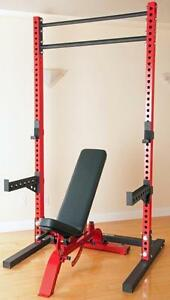 Price Drop by $100 ½ RACK / CROSS FIT, Will go fast NEW Will Ship in Canada for $100