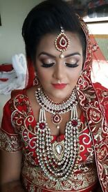PROFESSIONAL ASIAN BRIDAL MAKEUP ARTIST AND HAIR STYLIST - WITH OVER 7 YEARS EXPERIENCE