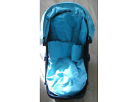 mothercare Xpedior three wheel+ car sit+ rain cover + guarantee OVER £300 BARGAIN!!!