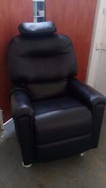 NHC Leather Rise and Recline, Massage Chair