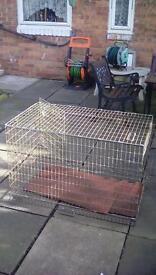 Large dog cage £20